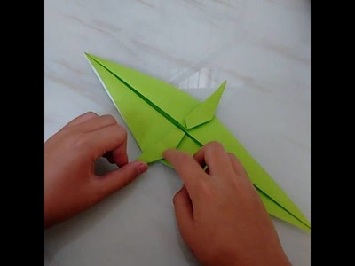 Origami t- Rex by Jo Nakashima