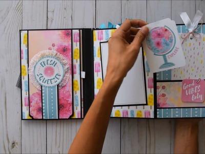 Simple Mini Album V.2   Bo Bunny - Summer Mood