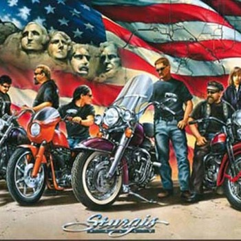 Sturgis MotorCycle Cross Stitch Pattern***LOOK***