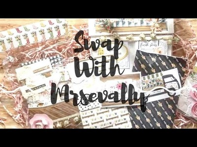 SWAP WITH MRSEVALLY | SPRING MARKET | PACKAGING SHOW N TELL | CLEAN & SIMPLE