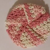 Tawashi (scrubby) made with 100% cotton yarn - 006