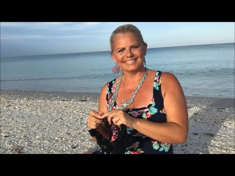 Yarn on the beach 137 live video podcast with Kristin Omdahl knitting crochet