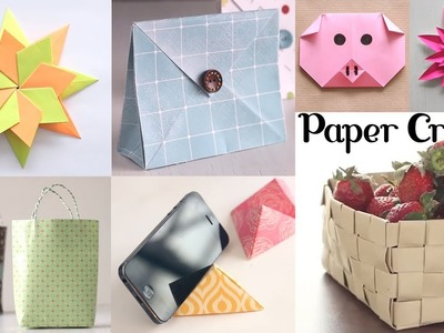 10 Amazing Paper Crafts | DIY Craft Ideas | Art All The Way