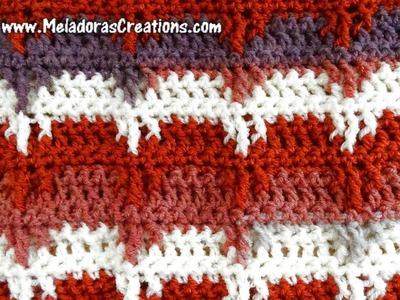Bear Claw Crochet Stitch - Right Handed Crochet Tutorial
