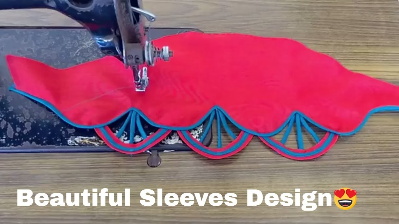 f58c132b3cd04 Beautiful sleeves design for blouse and Kurti -  2