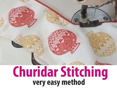 Churidar top Stitching tailoring classes part 2.3 Chudidhar Top With Lining Stitching