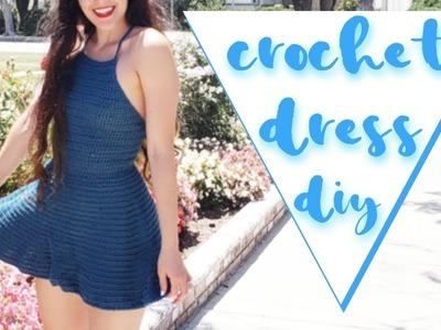Crochet Dress. Beginner-Friendly Crochet Dress Tutorial
