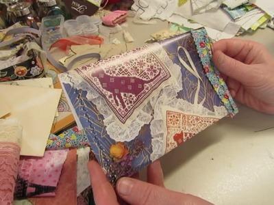 Domestic Arts: Process Video #4--making envelopes and pockets