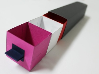 Gift Box Tutorial - Paper Box for Birthday