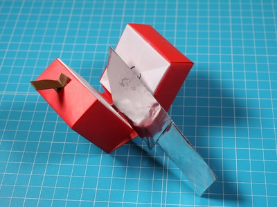 How to 3D Origami Fruit : Apple