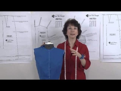 How to adjust for an Asymmetrical Shoulder Alteration with Sure-Fit Designs™