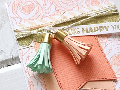 How to Create Paper Tassels