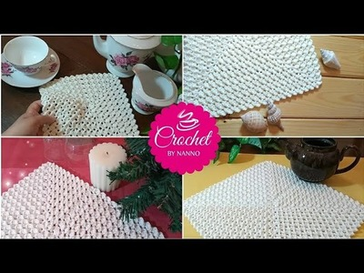 HOW TO CROCHET A BLANKET, TABLECLOTH & MORE #1 FAST & EASY ✨ GRANNY ALL SEASONS I The Crochet Shop