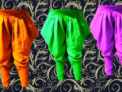 How to cut and stitch baby kite salwar