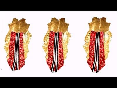 How to cut easy dhoti dress