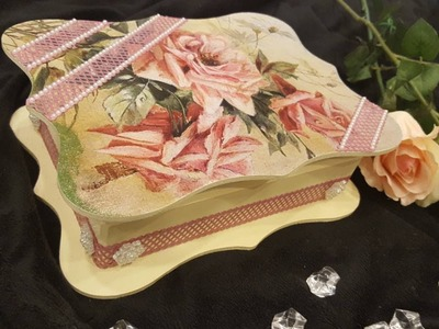 How to make a decoupage box - DIY