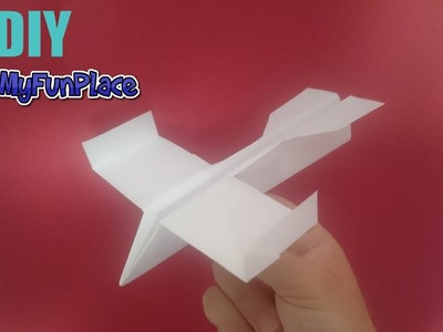 How To Make A Fighter Jet Paper Plane