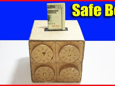 How to Make Amazing Safe Box 4 Digit Password DIY from Cardboard