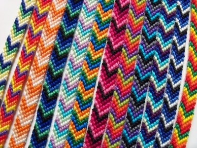 How to Make The Chevron Friendship Bracelet! Part 1 ll  TheRichmond01