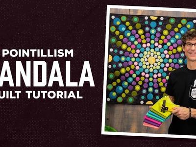 Make a Pointillism Mandala Quilt with Rob!