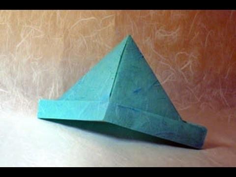 Origami Hat Instructions: www.Origami-Fun.com