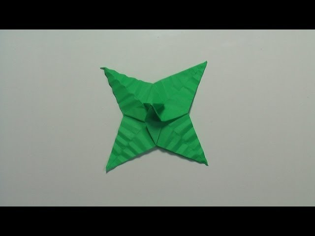 Origami Rose (Part 2 of 3) Leaf