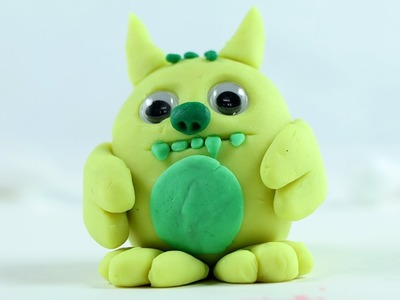 Play Doh - Clay Monster Making Tutorial