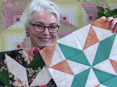 Rainbow Sorbet Block of the Month for June
