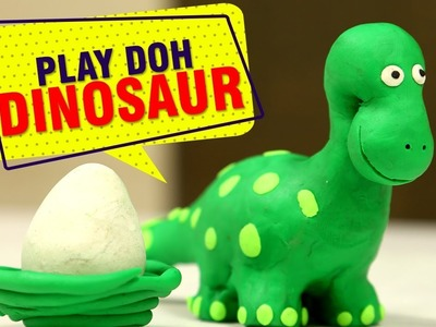 The Good Dinosaur Play Doh | How To Make Dinosaur With Play Doh | Animals For Kids | Easy DIY
