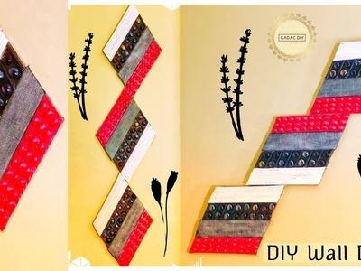 Craft ideas, How to Make Beautiful Paper Stick Flower, DIY Hand ...