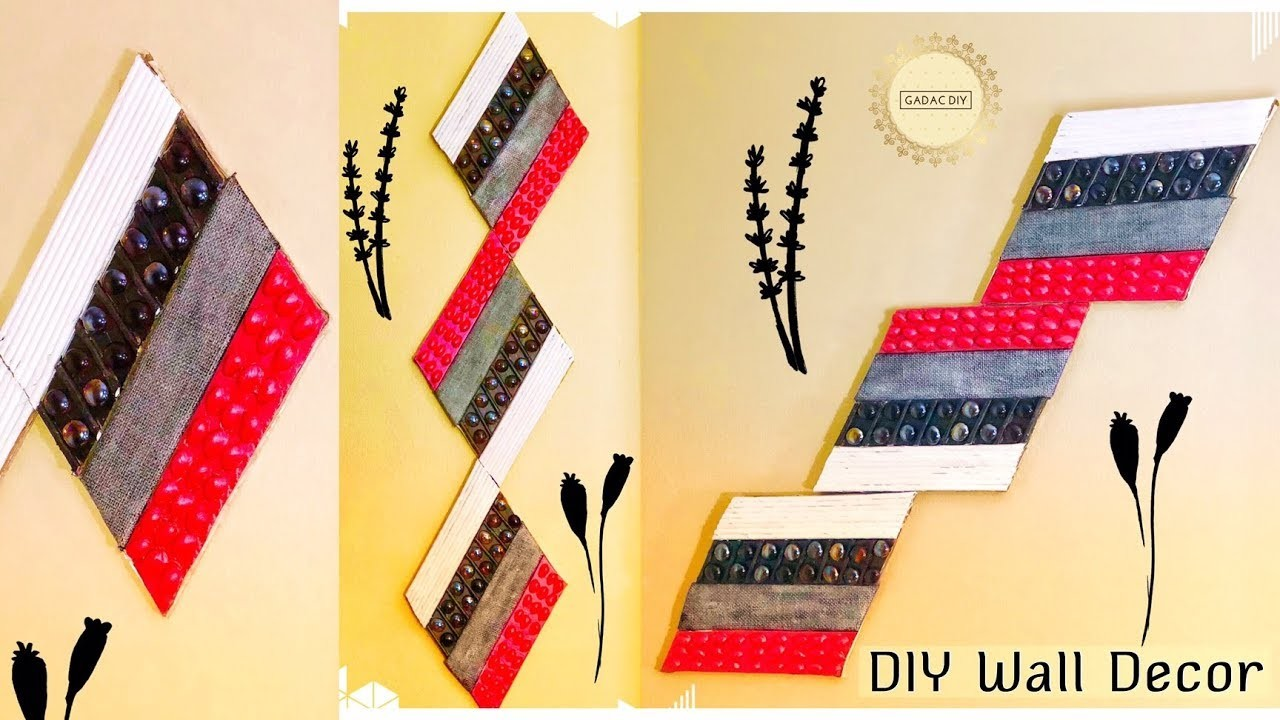 Wall Hanging Ideas, DIY Unique Wall Hanging, Wall Hanging Craft ...