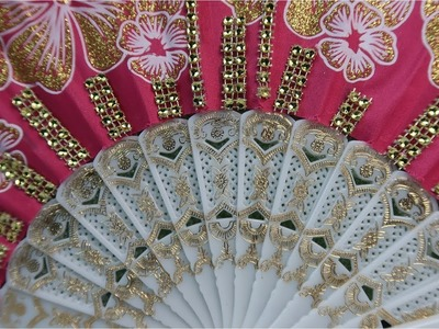 Another Way to Use a Silk Fan   Easy DIY Crafts Anyone Can Do