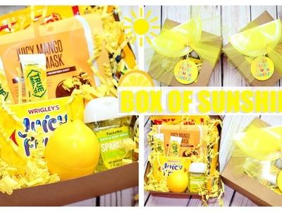 Box of Sunshine   DIY GIFT IDEA
