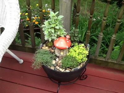 Container Gardening Open Challenge DIY using real plants  May 22, 2018