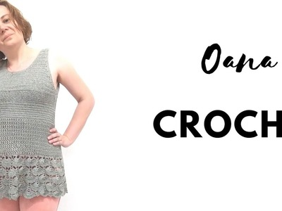 Crochet summer top second part by Oana