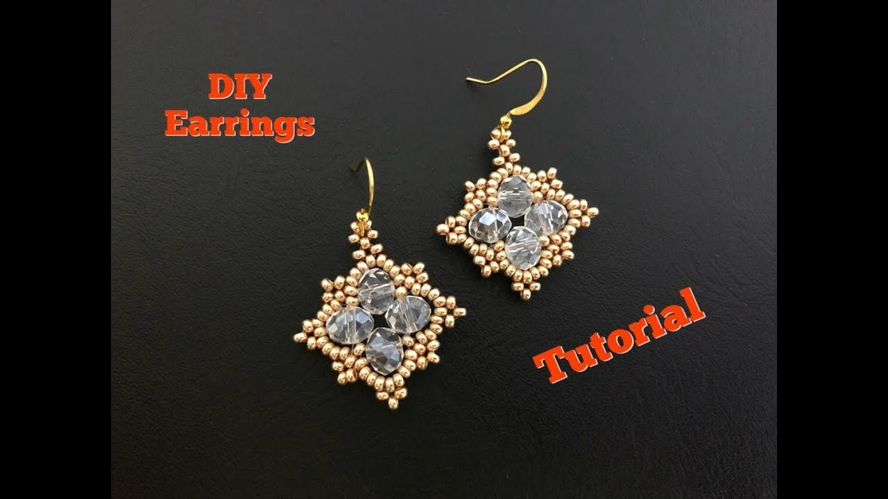 Diy Beaded Earrings For Begginers You Gonna Love This