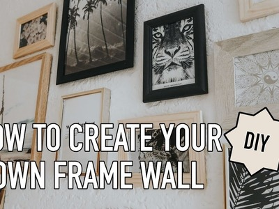 DIY  | DESENIO  | HOW TO CREATE AN INSPIRATION WALL | Haileighandjamie