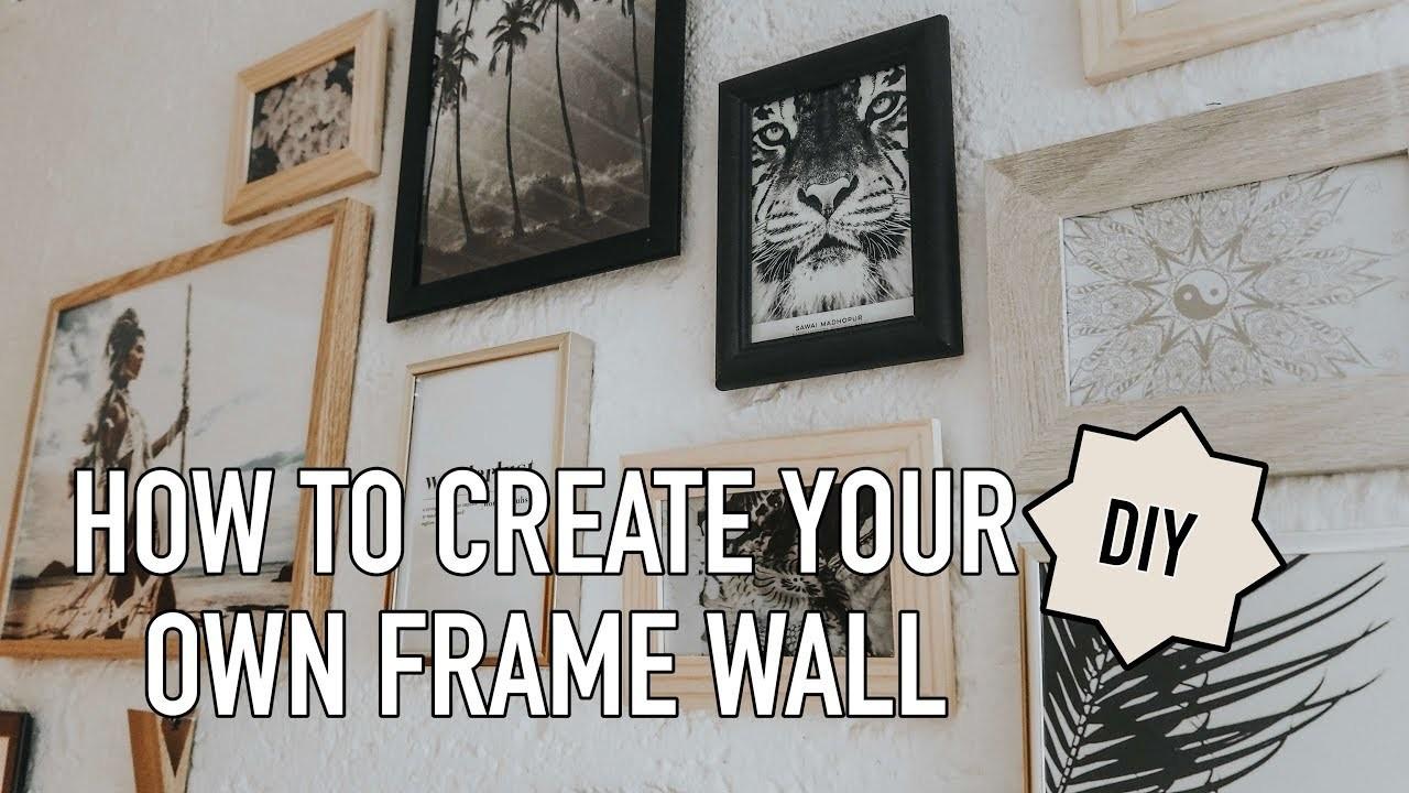 DIY    DESENIO    HOW TO CREATE AN INSPIRATION WALL   Haileighandjamie