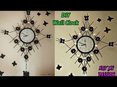DIY Designer Wall Clock | DIY Newspaper Wall Clock | DIY Wall Hanging | DIY Wall Decor| artmypassion
