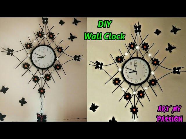 DIY Designer Wall Clock | DIY Newspaper Wall Clock | DIY Wall Hanging | DIY Wall Decor| artmypassion