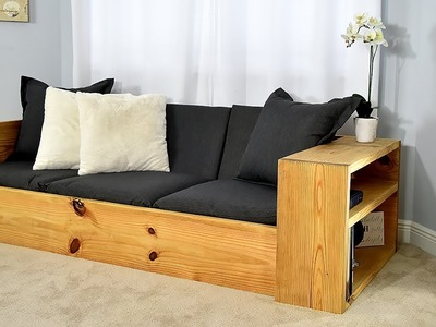 DIY Sofa Bed. Turn this sofa into a BED