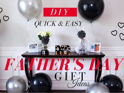 FATHER'S DAY GIFT IDEAS 2018 | DOLLAR TREE DIY GIFT IDEAS {Quick & Easy}