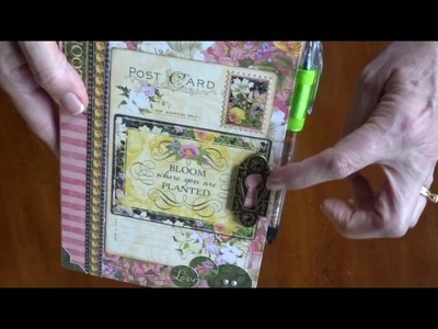 Floral Shoppe Box & Cards and Desk Folio