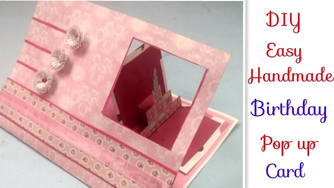 Handmade Birthday Card For FriendsWife DIY Love Greeting Cards BirthdayAnniversary