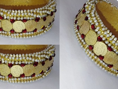 How Make Silk thread Bridal  Bangles At Home. !
