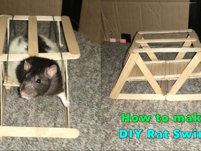 How to Make a DIY Swing for Pet Rats