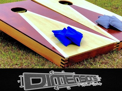 How To Make a Set of Cornhole Boards (Unique)