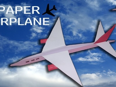 How To Make ✈️ PAPER AIRPLANE ✈️ Origami Arts