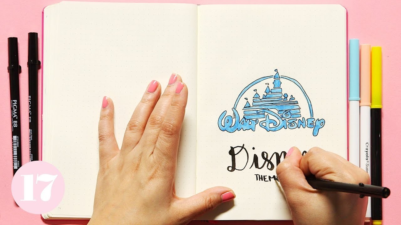 How To Setup A Disney Themed Monthly | Plan With Me