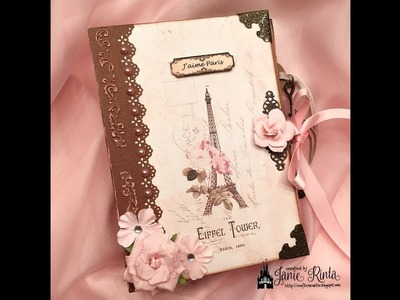 Mini Album - Paris Theme - With VectoriaDesigns